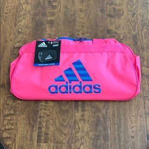 Adidas Diablo Small II Duffel Bag Solar Pink Sport
